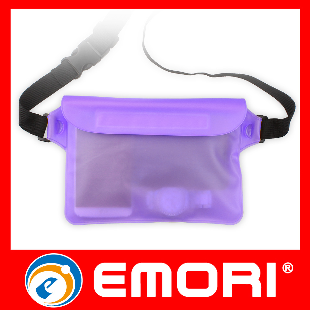 Custom Giveaway Gifts PVC Waterproof Belt Bag For Diving Swimming