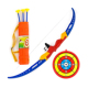 Kids Archery Bow and Arrow Toy Set with Target Outdoor Garden Fun Game