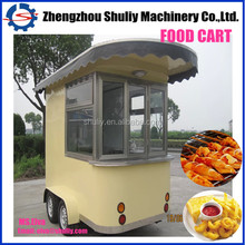2014 hot stainless car for fast food,fast food van,fast food truck
