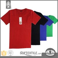 softextile Advertising black tee shirt wholesale fashion custom organic tee shirt