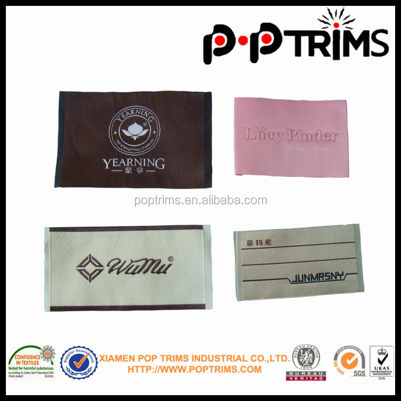 brand name garment woven label for clothing