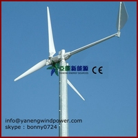 Wind generator China magnetic generator 5kw 220v windkraftanlagen