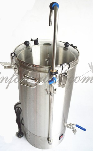 35L All in one brew kit 500W/1900W mash brewing equipment Accessories set Brew Machine all grain brewing with recirculation pump