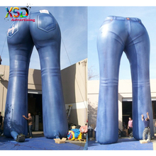 Huge inflatable jeans model / large inflatable jeans booty / inflatable pants for sale