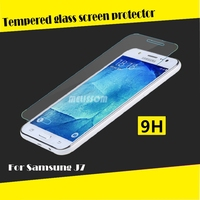 2015 High Clear Tempered Glass for Samsung J7 Tempered Glass Screen Protector Protective Film