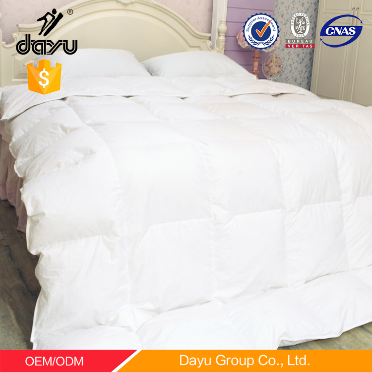 High quality 100% duck feather duvets down and feather duvet quilts and down comforters