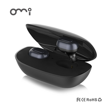 OMI MI03 Best charging case TWS True Mini Bluetooth Earphones Wireless Sport Earbuds Twins Stereo In-ear Headsets