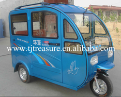 EFFECTRIVE BATTERY OPERATED ELECTRICAL THREE WHEELER AUTO RICKSHAW FOR 6 PASSENGERS
