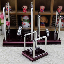 Steel Newton's Balance Ball Cradle Physics Science Pendulum Desk Fun Toy Gift