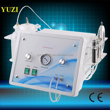 New hydro dermabrasion/Water Facial machine/jet peel hydra YU-F3 oxygen spray + Ultrasonic Skin Scrubber Machine