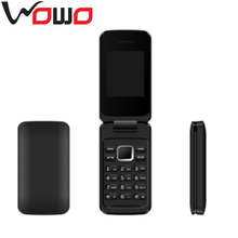Latest modle 2.4 Inch Screen GSM Quad Band Dual SIM Card Flip Mobile Phone P1
