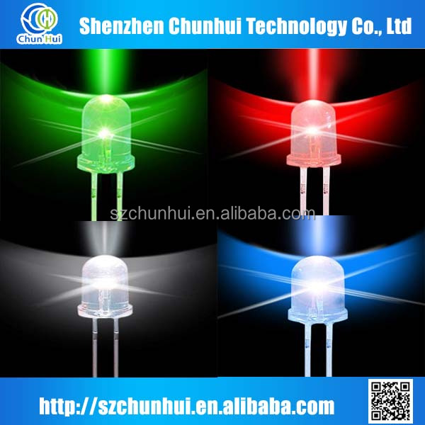 High-brightness 5mm green led diode 5 mm led