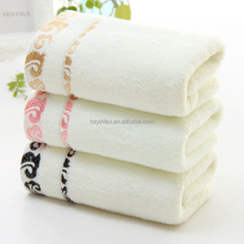 2017 Antibacterial Pink Blue Bathroom Towel Sets Bamboo Beach Bath Towels for Adults Luxury Face Body Wash Cloth Towels