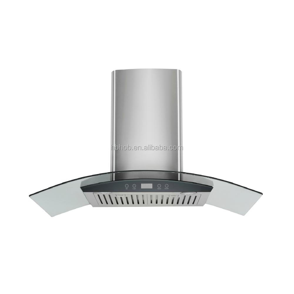 High quanlity design Stainless Steel kitchen smoke range hood