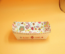 Christmas Disposable Sushi Boat Paper Plates Trays