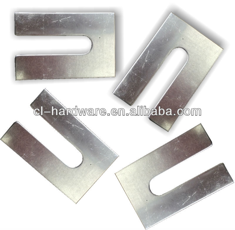 steel metal Horseshoe trouser Shim