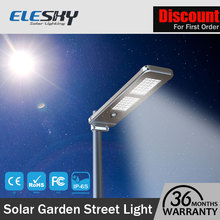Waterproof solar power IP65 led solar gate light