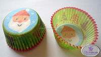Greaseproof Baking Paper Cups For Cakes