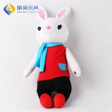 EN71 certificate touch to play music talking rabbit plush stuffed toys