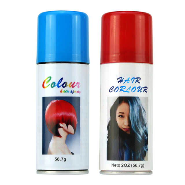 temporary washable hair color spray for party use