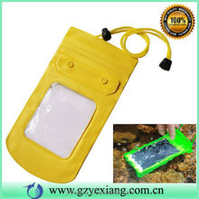 China Supplier PVC Waterproof Case For Samsung Galaxy S4 Zoom