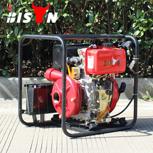 BISON CHINA TaiZhou Air Cooled Direct Injection High Pressure Diesel Power Water Pump