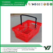 Carrying Plastic Supermarket Shopping Basket