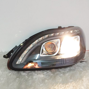 Auto Manufacturer's direct selling S department W220 98-05 headlamp assembly LED headlights for Benz