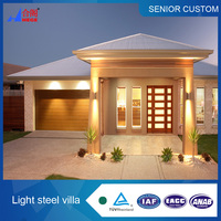 Light steel mobile villa,modular temporary prefab villa,prefabricated steel frame villa