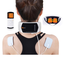 Rechardeable Vibrating Infrared Heat Neck Massager