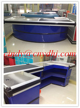 Store Supermarket Cashier Desk Checkout Counter/ Retail Checkout Counter/shop cash counter