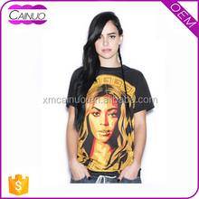 Women Polyester Best Fine Tshirts Slim Fitted Clothing