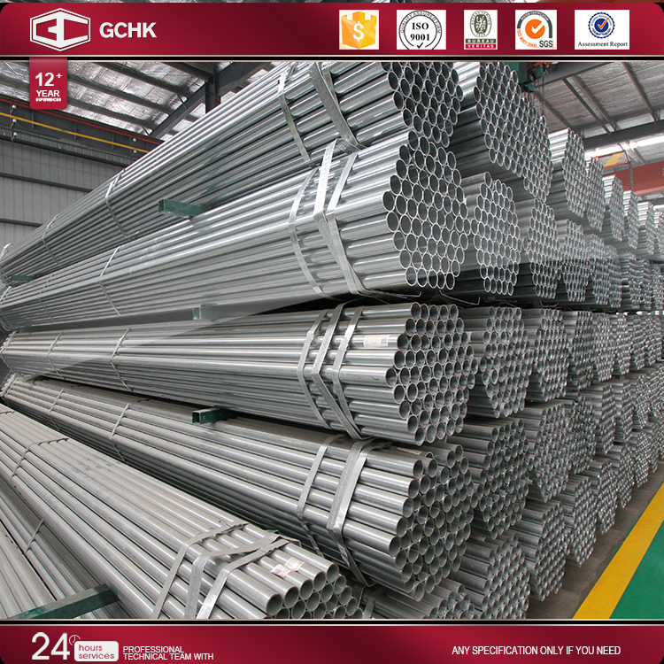 s40*40mm wall thickness pre galvanized square pipe