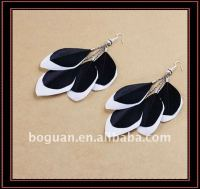 wholesale popular sexey feather earrings for sale