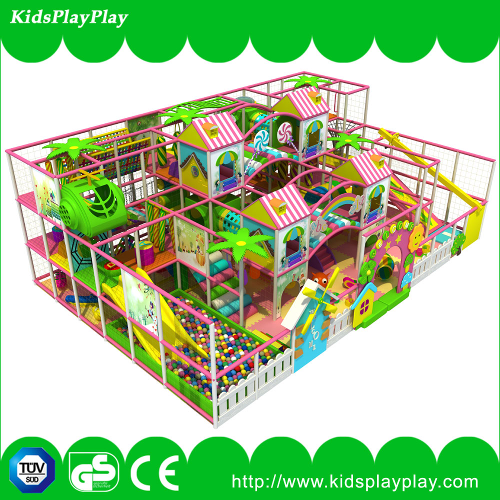 Children Commercial indoor playground Big Slides for SaleSoft Play Ga