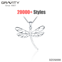 Small cute simple nice popular chain handmade statement charm silver women's bridesmaid butterfly fancy sets designer necklaces