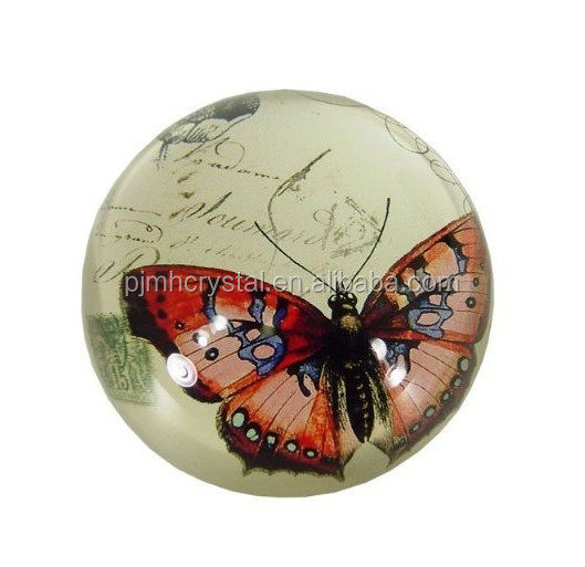 dome paperweight crystal crafts MH-BQ060