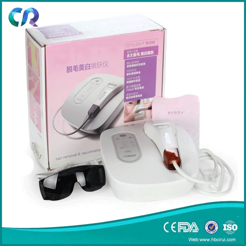 Mini hair removal shr laser hair removal sanhe E-light hair removal