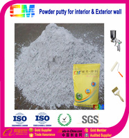 Water based powder paint white wall putty