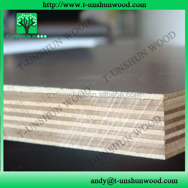 Russian birch and pine black film faced plywood