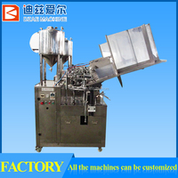 Best Quality cream cheese filling machine, lube oil filling machine,suppository filling machine