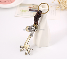 vintage color giraffe animal keychains super cute custom color animal keychains