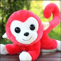 long tail monkey plush toys, plush monkey stuffed toys