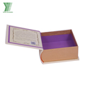 New product cardboard decorative book shaped box book shaped boxes wholesale