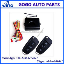 Universal central door lock remote entry truck release output remote control unit car keyless entry system