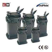 Dophin hot selling Aquatic Aquarium External Canister Filter with Filter Medium C-500 to C-1600