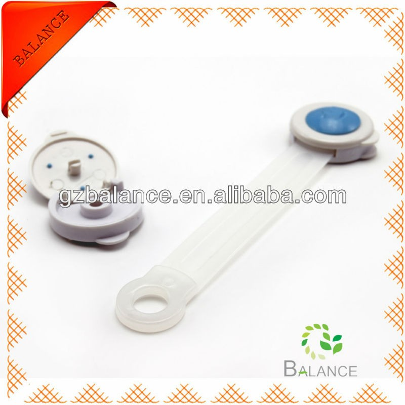 Adjustable child safety locks for cabinet adjustable locks