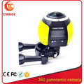 newest sport camera panoview action 360 camera