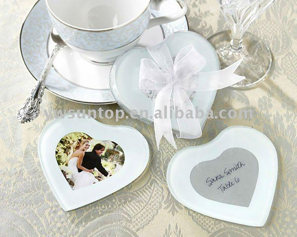 Capture My Heart Photo Coaster for wedding Souvenir Return Gifts