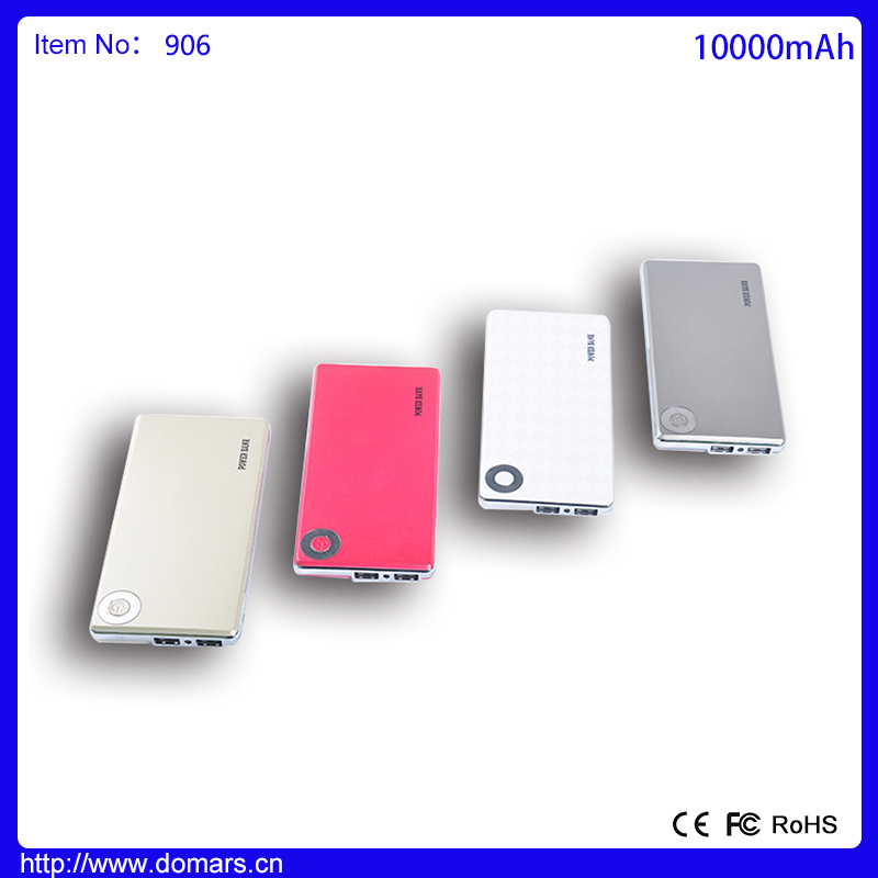 2015 New design Product Durable Battery Charger 10000mAh Innovativel Handy Mobile Power Bank
